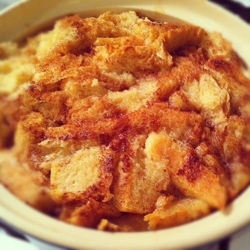 simple raisin bread pudding