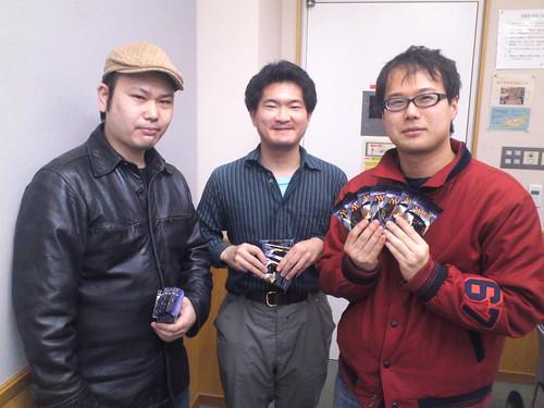 DKA PRT Yoyogi Winner : Suzuki Masatsuna, Akita Naoto, Sato Takamasa