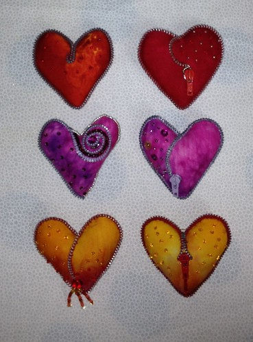 Heart pins