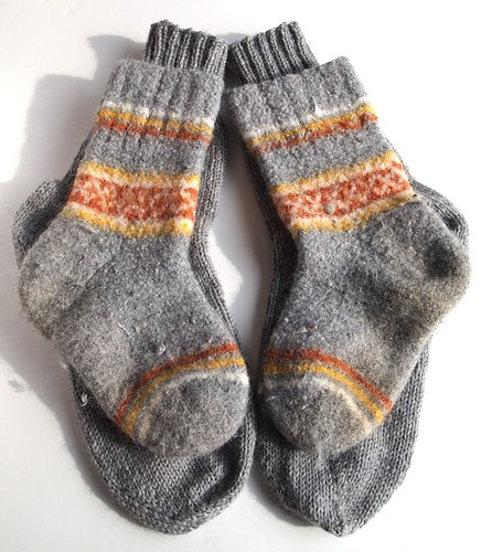 David's replacement wool socks