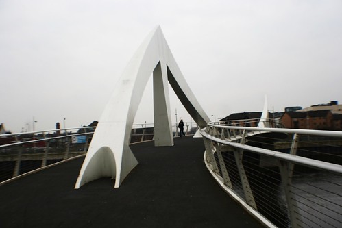Squiggly Bridge, River Clyde