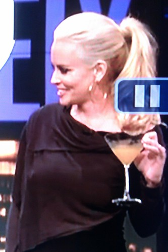 Jenny McCarthy is a bitch and she holds her martini glass all weird by christopher575