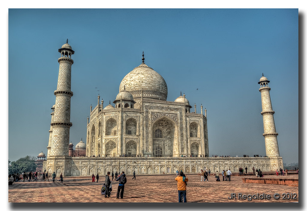 Taj Mahal by JR Regaldie Photo