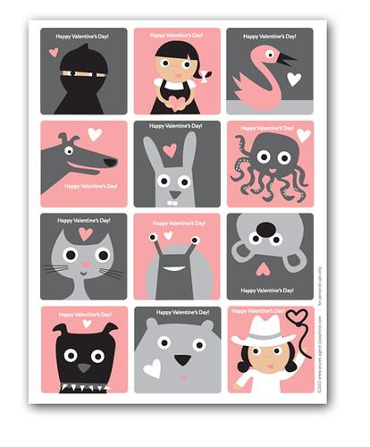 FREE 2012 SAJ Valentines
