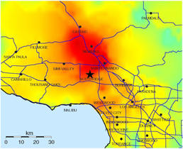 directivity,Northridge,Intensity