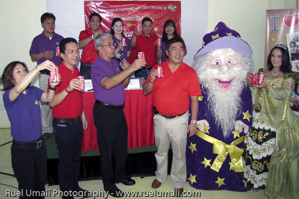 Launching of Enchanted Kingdom and Coca-Cola Partnership
