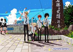 120203(2) - 動畫監督「中村健治」的嶄新原創動畫作品《つり球》將從4月首播,主角造型、製作群與聲優陣容一一揭曉!