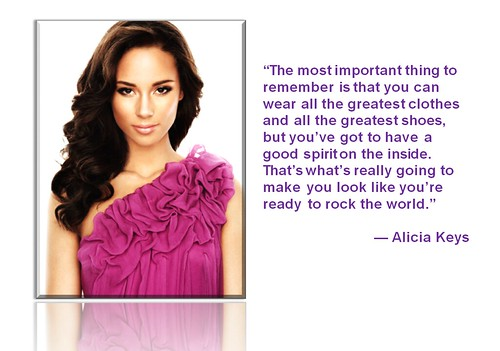 Fashion Notes - FEB2012 - Alicia Keys