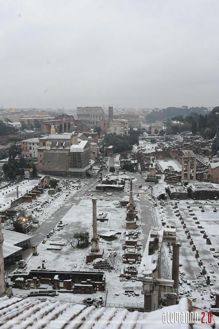 Nevicata romana 2012