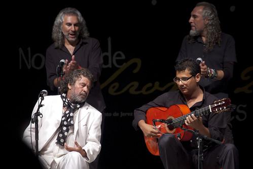 """Viernes flamencos 2011, con Juan Moneo """"El Torta"""""""