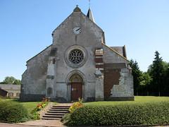Camps-en-Amiénois (église) façade Ouest 0160