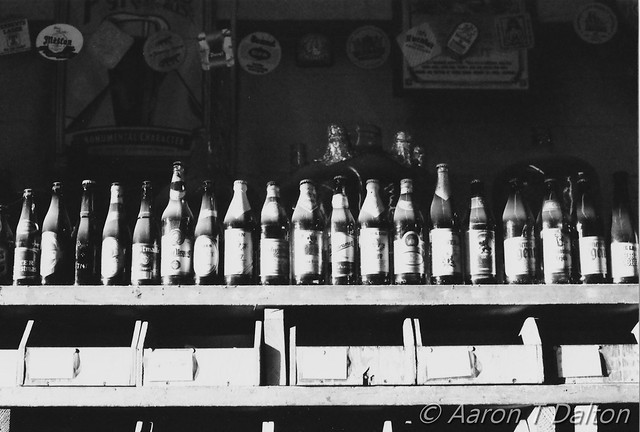 A Row of Bottles