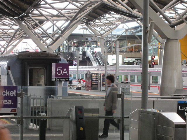 The Doctor spotted at Southern Cross Station