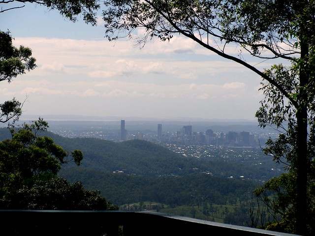 Brisbane CBD from Camp Mountain