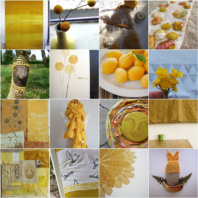 lots and lots of sunny yellow !