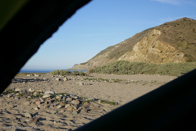 View from Tent, Point Mugu