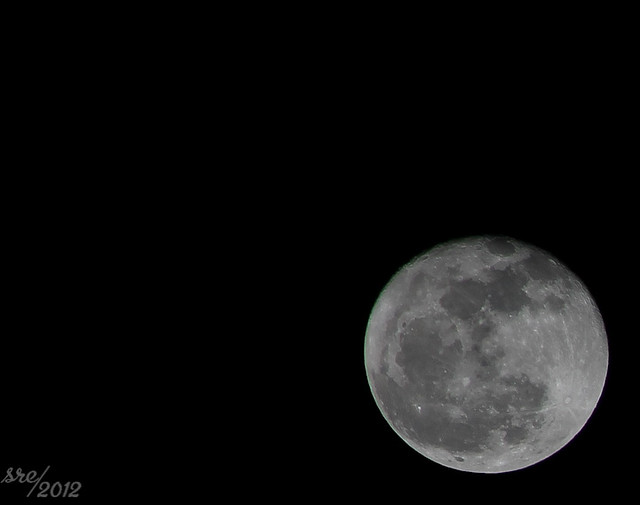 February 8 -- I see the moon