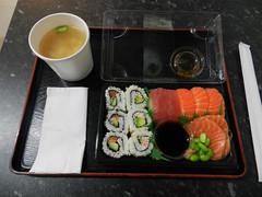 At Kokoro Sushi Bento, Dublin