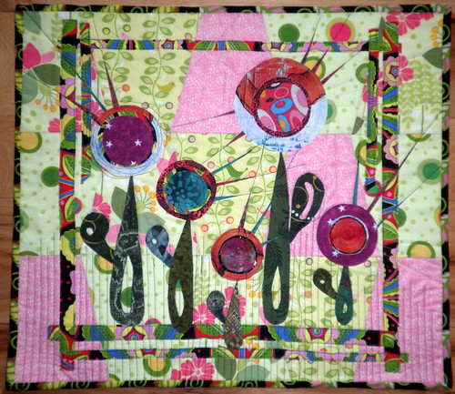 'Quilter's Garden' Project QUILTING Season 3, Challenge 3