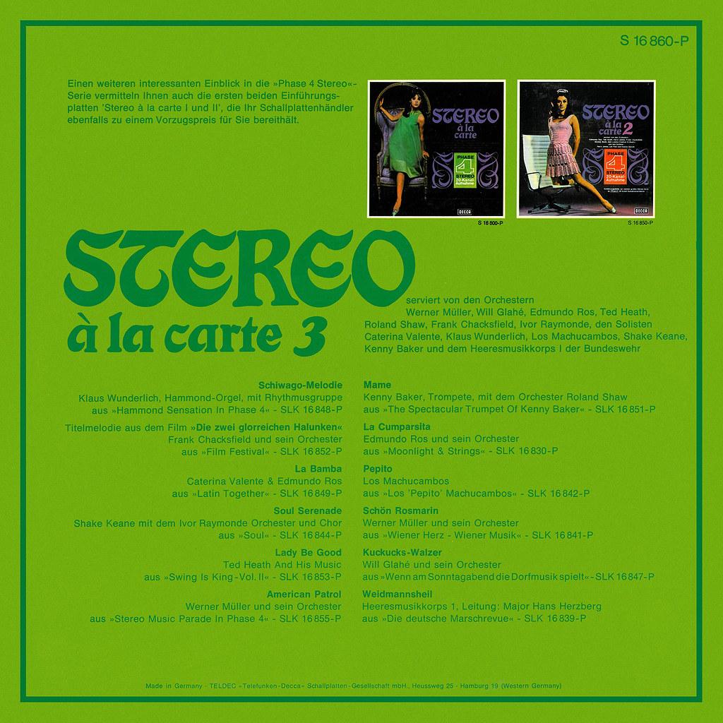 Various - Stereo À La Carte 4