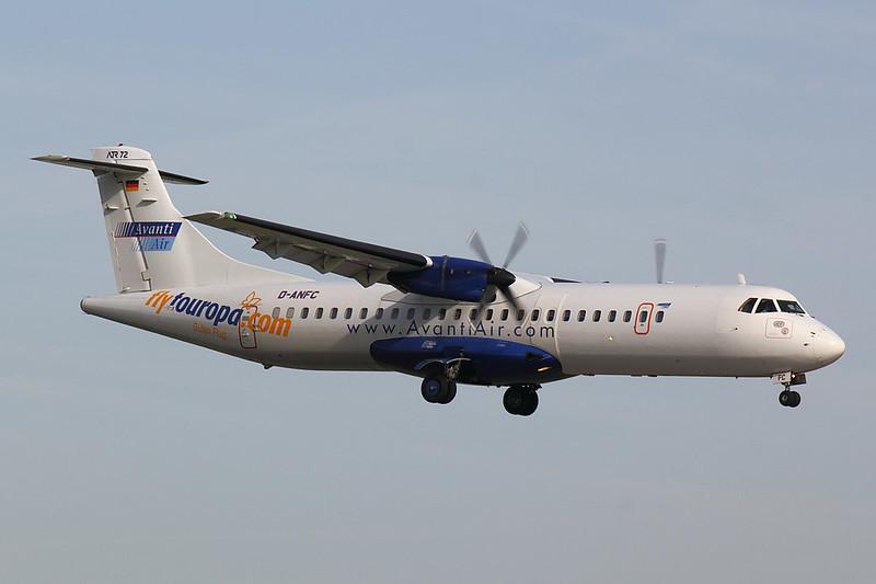 Avanti Air - AT72 - D-ANFC