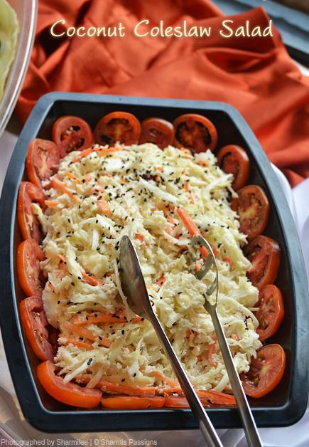 Coconut Coleslaw Salad
