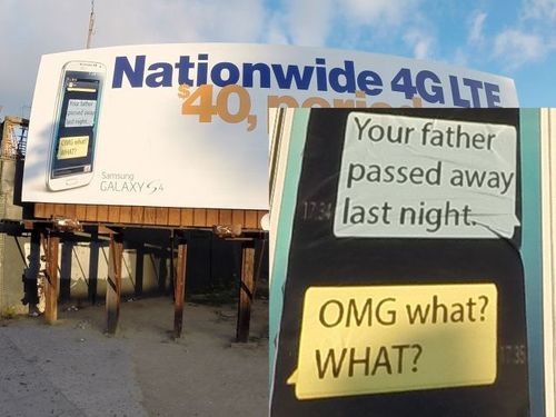 4G Network billboard