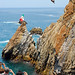 Cliff Diving, Acapuco, Mexico by jye_99