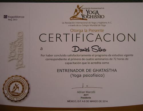 Certificación Daniel Silva