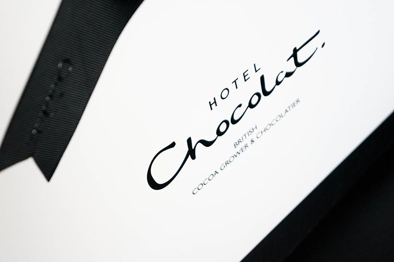 Hotel Chocolat Cocoa Juvenate Range Logo | www.latenightnonsense.com