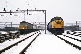 Bescot Yard, January 1985