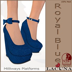 Milliways Platform Royal-Blue