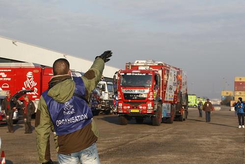 Embarque puerto Le Havre Dakar 2012