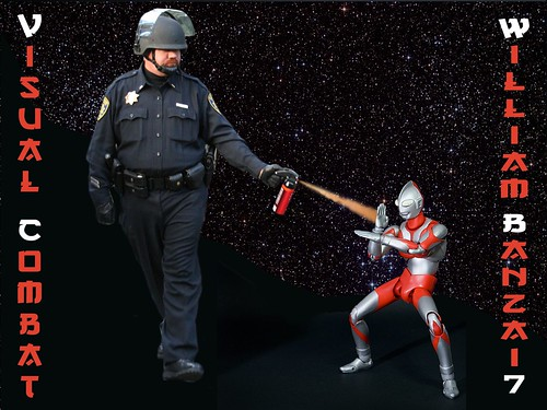 VISUAL COMBAT PEPPER SPRAY COP by Colonel Flick