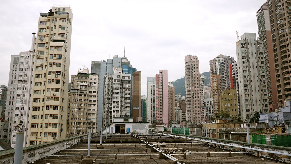 Sheung Wan Roofscape