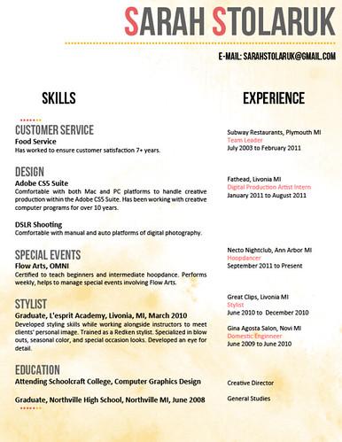 Amazing resume