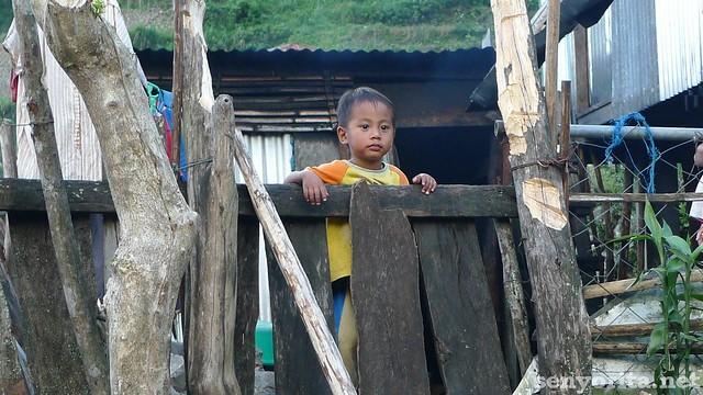 Curious little Ifugao boy. So cute!