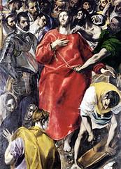 El Greco (1578), El expolio