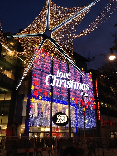 Boots Christmas Lights