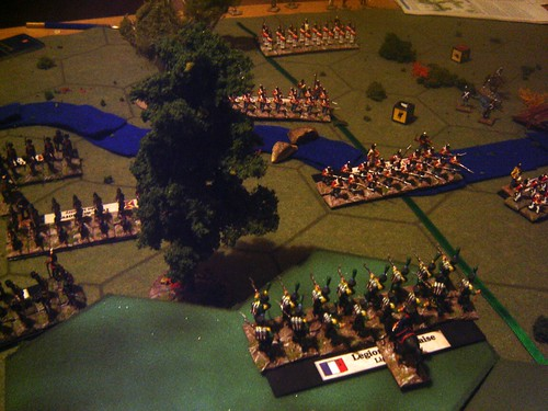 French try to hold back the advance