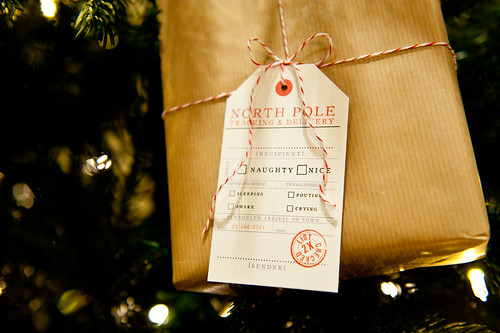 Naughty or Nice? Christmas Gift Tag Freebie | Brooklyn Limestone