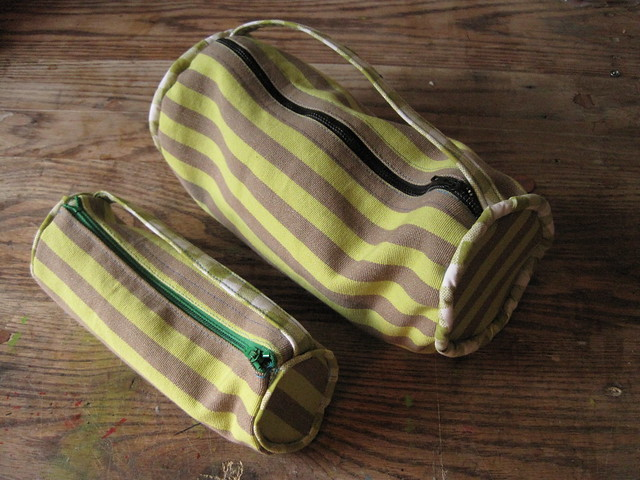 pencil cases, handmade by christin ripley, design squish