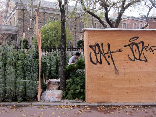 Christmas comes to the East Village