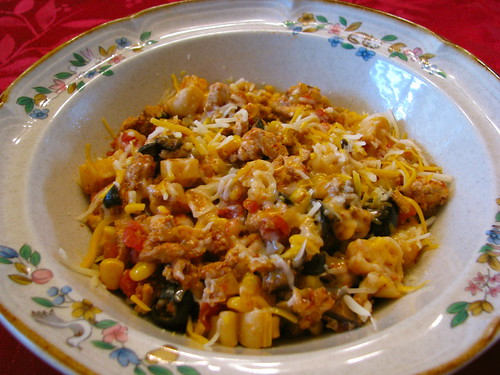 Slow Cooker Chicken Chili Mac