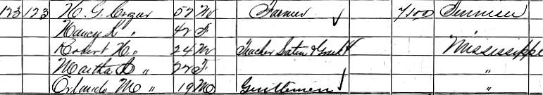 Reverend Robert Haskins Crozier, D.D. 1860