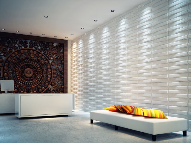 Wall Panels For Decor : D wall tile flickr photo sharing