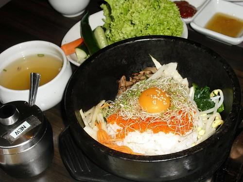 bibimbap with roe @ CHANG