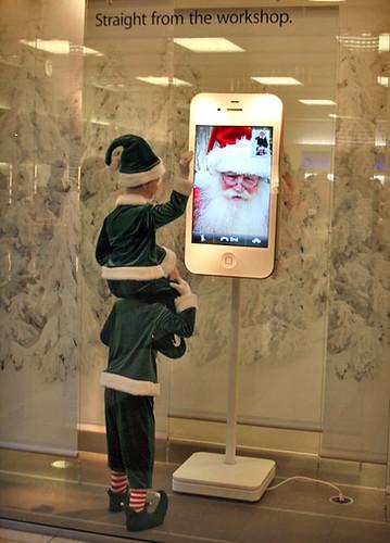 iPhone Elves Apple Store Window