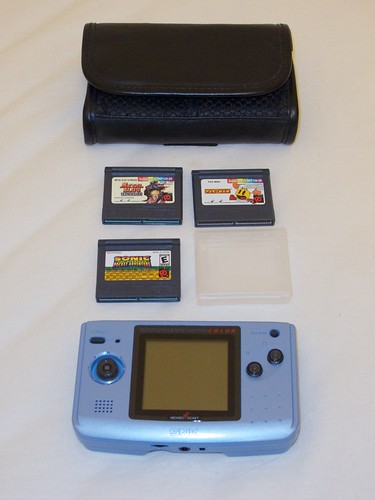 My Neo Geo Pocket Color starter kit