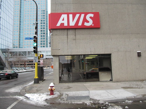 Avis Car Rental in Downtown Minneapolis serving Amtrak